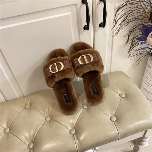 Christian Dior Slippers For Women #801816
