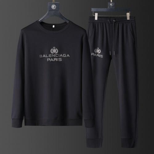 Balenciaga Fashion Tracksuits Long Sleeved O-Neck For Men #801837