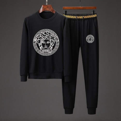 Versace Tracksuits Long Sleeved O-Neck For Men #801847