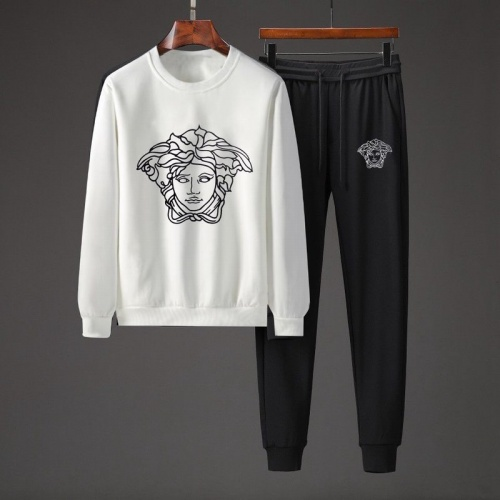 Versace Tracksuits Long Sleeved O-Neck For Men #801848