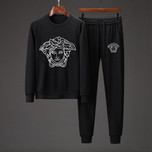 Versace Tracksuits Long Sleeved O-Neck For Men #801849