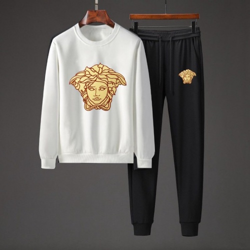 Versace Tracksuits Long Sleeved O-Neck For Men #801853