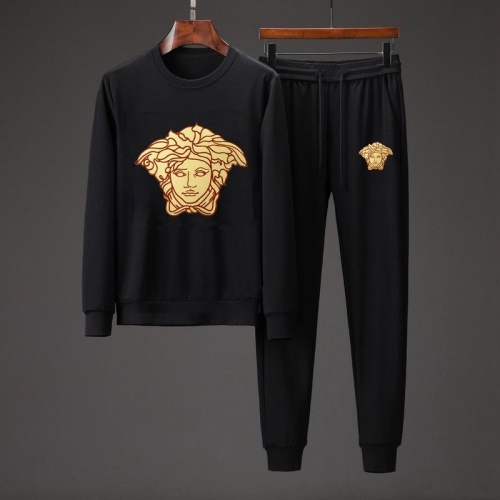 Versace Tracksuits Long Sleeved O-Neck For Men #801854