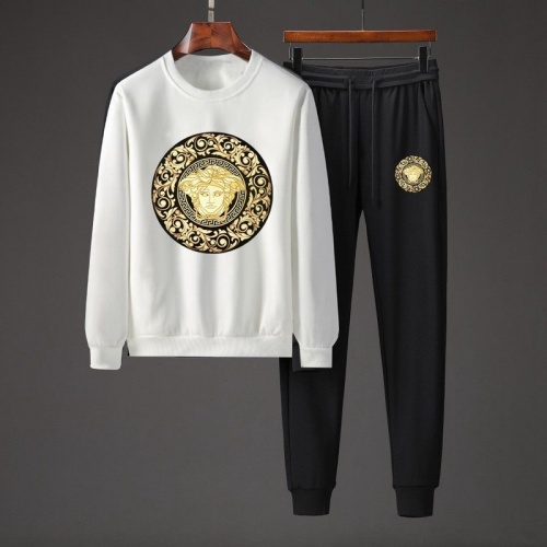 Versace Tracksuits Long Sleeved O-Neck For Men #801857