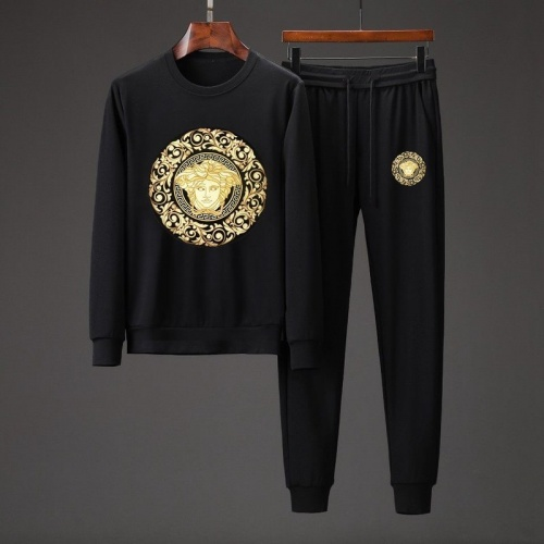 Versace Tracksuits Long Sleeved O-Neck For Men #801858