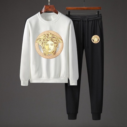 Versace Tracksuits Long Sleeved O-Neck For Men #801859