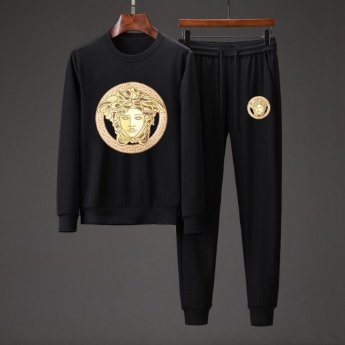 Versace Tracksuits Long Sleeved O-Neck For Men #801860