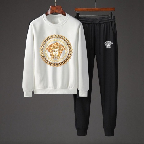 Versace Tracksuits Long Sleeved O-Neck For Men #801863 $82.45 USD, Wholesale Replica Versace Tracksuits