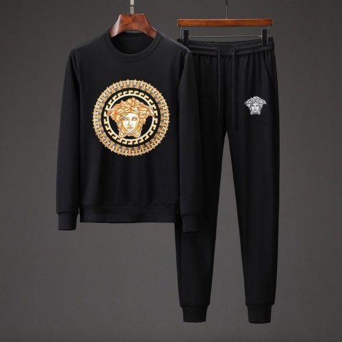Versace Tracksuits Long Sleeved O-Neck For Men #801864