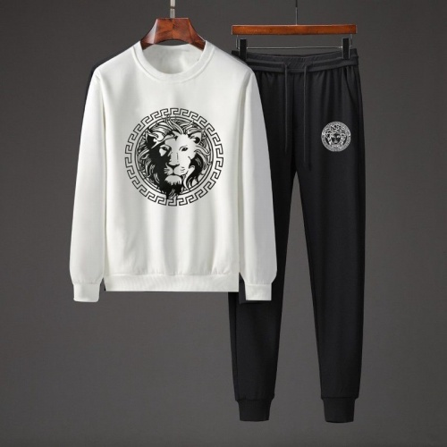 Versace Tracksuits Long Sleeved O-Neck For Men #801865