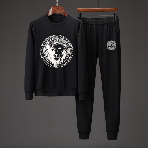 Versace Tracksuits Long Sleeved O-Neck For Men #801866