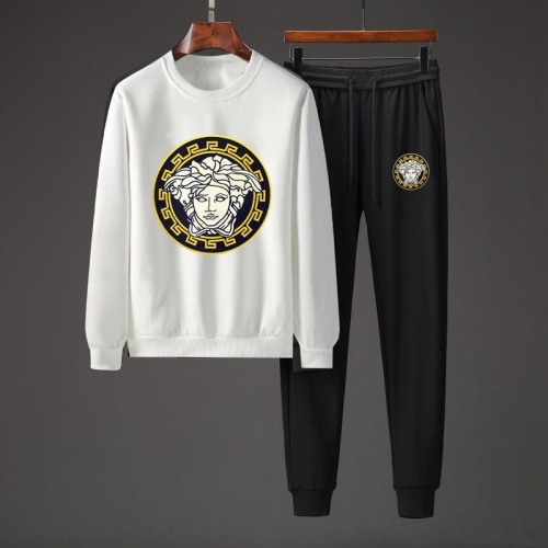 Versace Tracksuits Long Sleeved O-Neck For Men #801867 $82.45 USD, Wholesale Replica Versace Tracksuits
