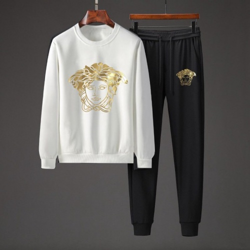 Versace Tracksuits Long Sleeved O-Neck For Men #801870 $82.45 USD, Wholesale Replica Versace Tracksuits