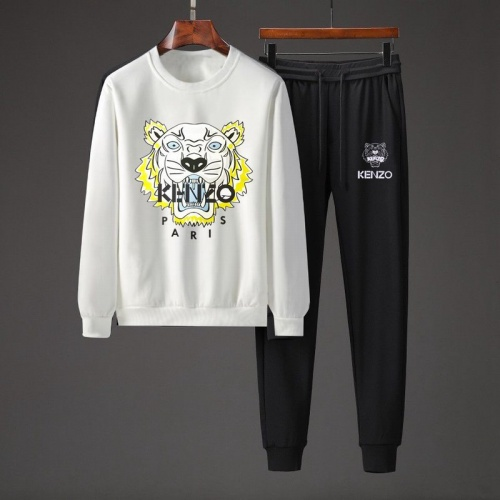 kenzo Tracksuits Long Sleeved O-Neck For Men #801880