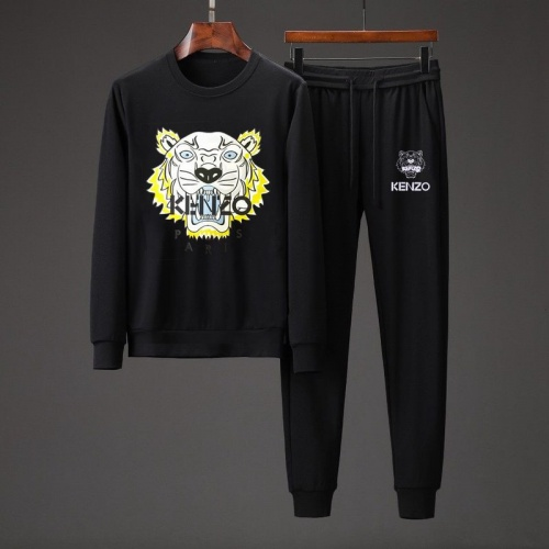 kenzo Tracksuits Long Sleeved O-Neck For Men #801881