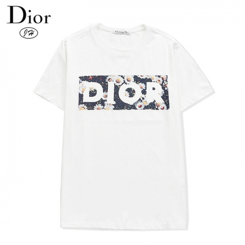 Christian Dior T-Shirts Short Sleeved O-Neck For Men #801939