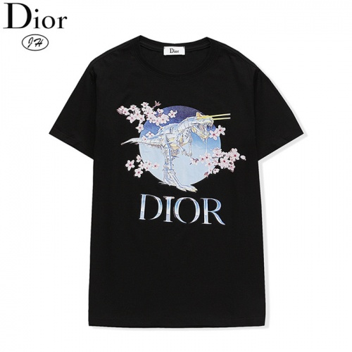 Christian Dior T-Shirts Short Sleeved O-Neck For Men #801941