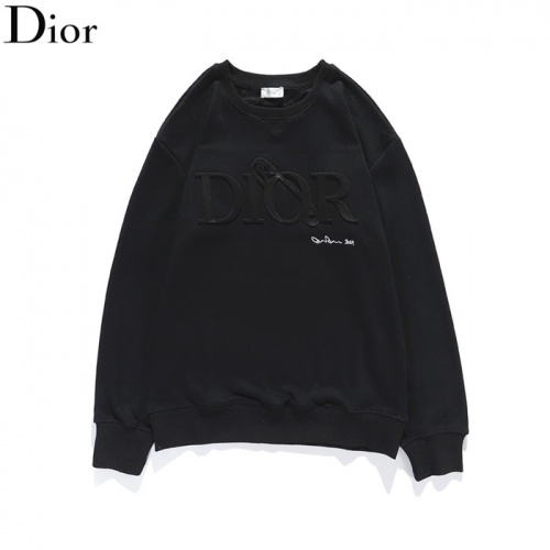 Christian Dior Hoodies Long Sleeved O-Neck For Men #801964
