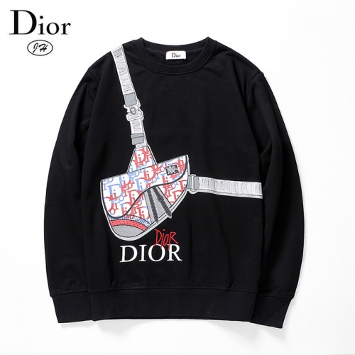 Christian Dior Hoodies Long Sleeved O-Neck For Men #801967