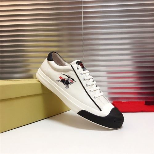 Replica Burberry Casual Shoes For Men #802110 $77.60 USD for Wholesale