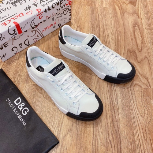 Dolce & Gabbana D&G Casual Shoes For Men #802137