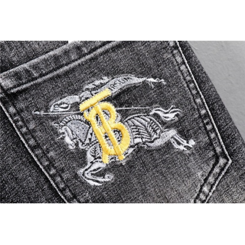 Replica Burberry Jeans Trousers For Men #802268 $52.38 USD for Wholesale
