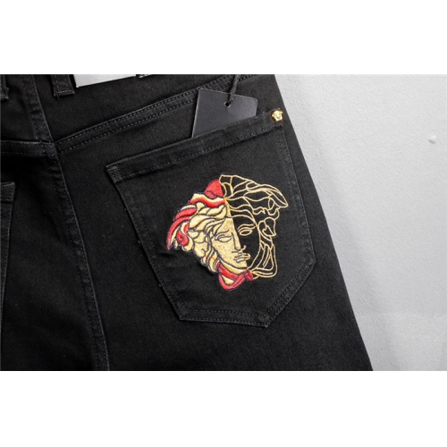 Replica Versace Jeans Trousers For Men #802271 $52.38 USD for Wholesale