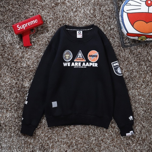 Replica Aape Hoodies Long Sleeved O-Neck For Men #802272 $36.86 USD for Wholesale
