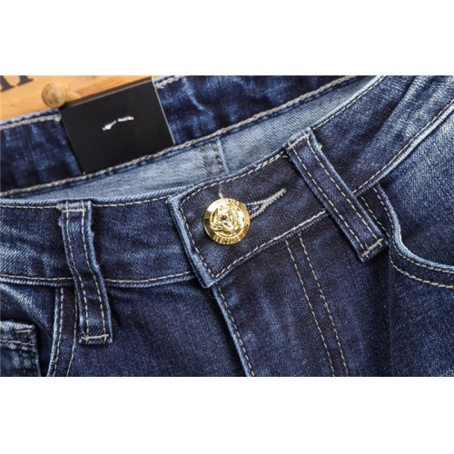 Replica Versace Jeans Trousers For Men #802273 $52.38 USD for Wholesale