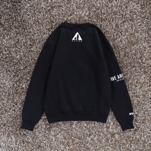 Replica Aape Hoodies Long Sleeved O-Neck For Men #802276 $36.86 USD for Wholesale