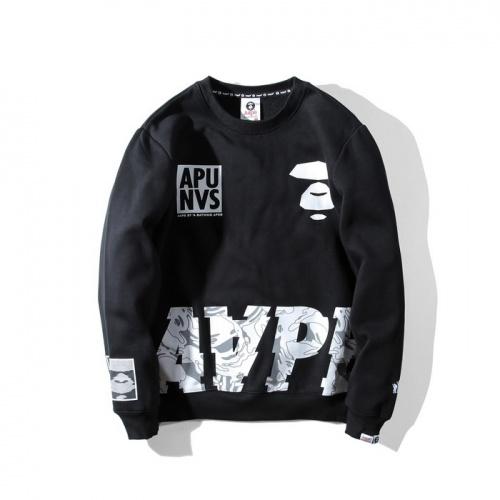 Aape Hoodies Long Sleeved O-Neck For Men #802279 $36.86 USD, Wholesale Replica Aape Hoodies