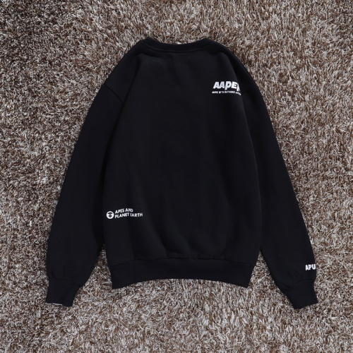 Replica Aape Hoodies Long Sleeved O-Neck For Men #802283 $34.92 USD for Wholesale