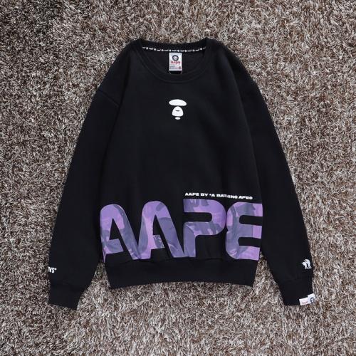 Aape Hoodies Long Sleeved O-Neck For Men #802284 $34.92 USD, Wholesale Replica Aape Hoodies