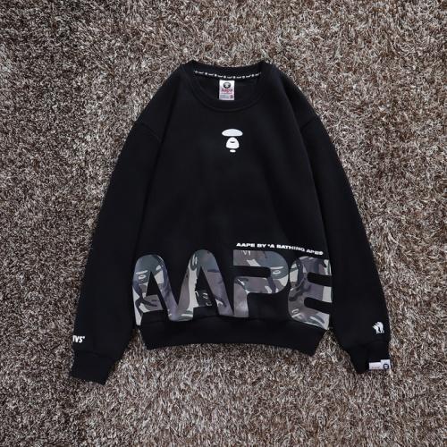 Aape Hoodies Long Sleeved O-Neck For Men #802291 $34.92, Wholesale Replica Aape Hoodies