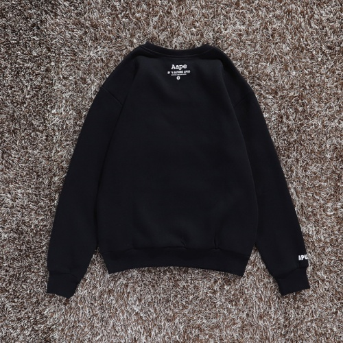 Replica Aape Hoodies Long Sleeved O-Neck For Men #802292 $34.92 USD for Wholesale