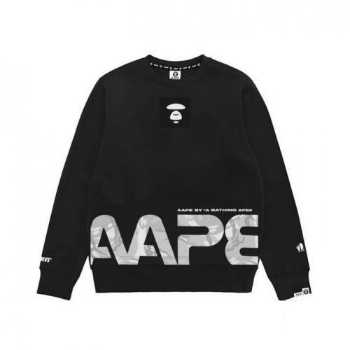 Aape Hoodies Long Sleeved O-Neck For Men #802330 $38.80 USD, Wholesale Replica Aape Hoodies
