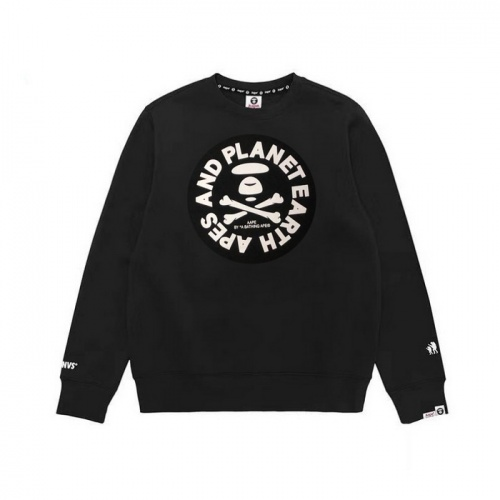 Replica Aape Hoodies Long Sleeved O-Neck For Men #802331 $38.80 USD for Wholesale