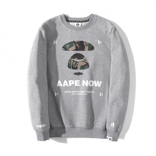 Aape Hoodies Long Sleeved O-Neck For Men #802335 $38.80 USD, Wholesale Replica Aape Hoodies
