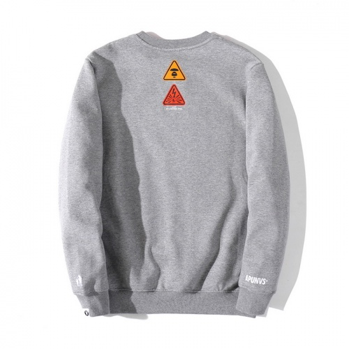 Replica Aape Hoodies Long Sleeved O-Neck For Men #802335 $38.80 USD for Wholesale