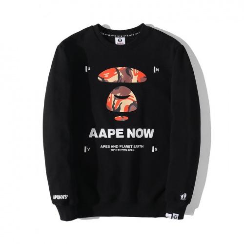 Aape Hoodies Long Sleeved O-Neck For Men #802336 $38.80, Wholesale Replica Aape Hoodies