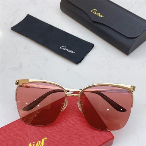 Cartier AAA Quality Sunglasses #802343