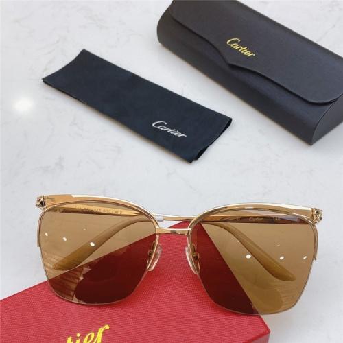 Cartier AAA Quality Sunglasses #802345
