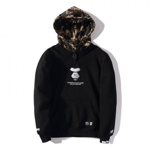 Aape Hoodies Long Sleeved Hat For Men #802346 $46.56 USD, Wholesale Replica Aape Hoodies
