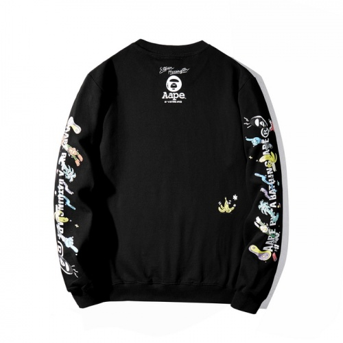 Replica Aape Hoodies Long Sleeved O-Neck For Men #802350 $38.80 USD for Wholesale