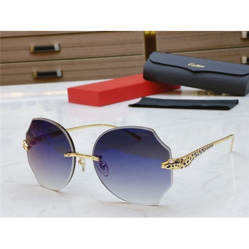 Cartier AAA Quality Sunglasses #802351
