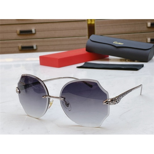 Cartier AAA Quality Sunglasses #802357