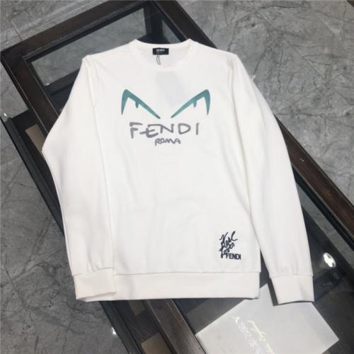 Fendi Hoodies Long Sleeved O-Neck For Men #802428