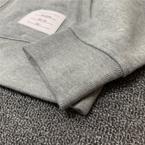 Replica Thom Browne TB Tracksuits Long Sleeved Zipper For Men #802447 $89.24 USD for Wholesale