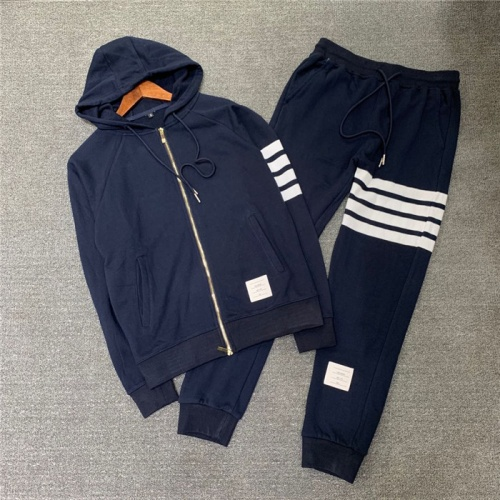 Thom Browne TB Tracksuits Long Sleeved Zipper For Men #802448