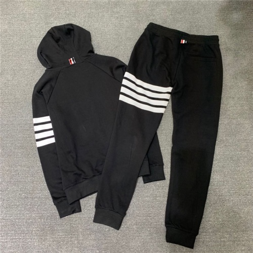 Replica Thom Browne TB Tracksuits Long Sleeved Zipper For Men #802449 $89.24 USD for Wholesale